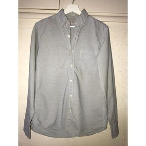 Men's Slim Fit Striped J.Crew Button Down Shirt